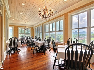 Rabun Manor Dining Room View