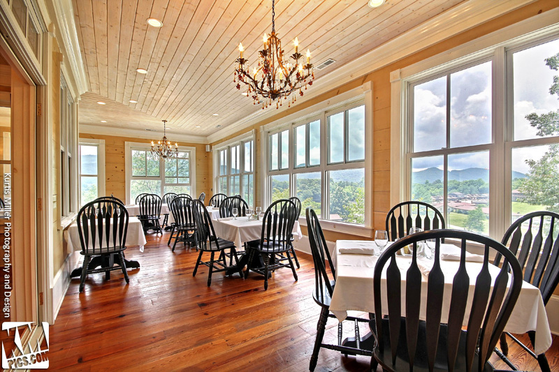Rabun Manor Dining Room View